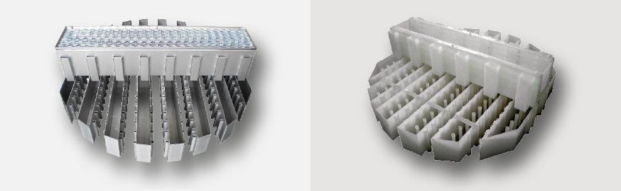 Hochwertiger Flüssigkeitsverteiler DT-S Metall und Kunststoff