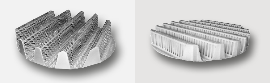 Multibeam Tragrost SP-1 Metall und Kunststoff
