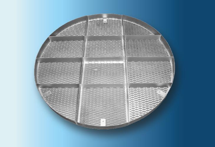 Niederhalterost Type HP-1, Ø > 100 mm für Metall- und Kunststoffpackungen