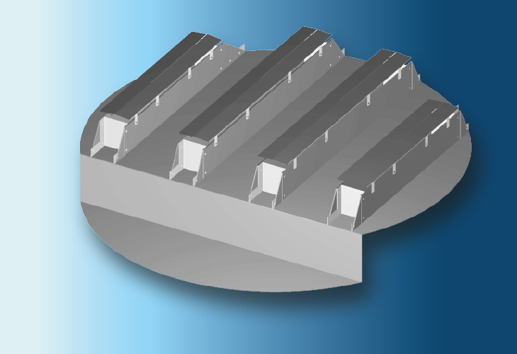 Flüssigkeitssammler Type CP-1 Ø > 1200 mm