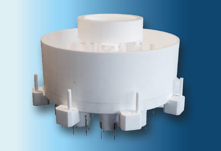 Hochleistungs-Flüssigkeitsverteiler Type DR-LL, Ø < 1200 mm Sehr niedrige Flüssigkeitsmengen