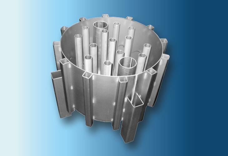 Hochleistungs-Flüssigkeitsverteiler Type DR-S, 100 mm < Ø > 1200 mm Niedrige bis mittlere Flüssigkeitsmengen
