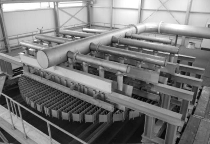 Rötha/Deutschland Flüssigkeitsverteiler-Testanlage bis zu 12 m Durchmesser