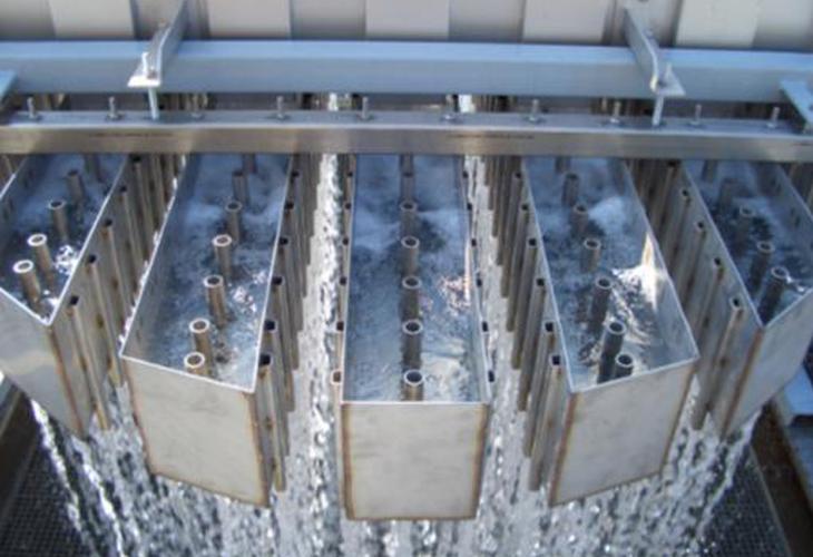 Ludwigshafen/Deutschland Flüssigkeitsverteiler-Testanlage bis zu 2 m Durchmesser