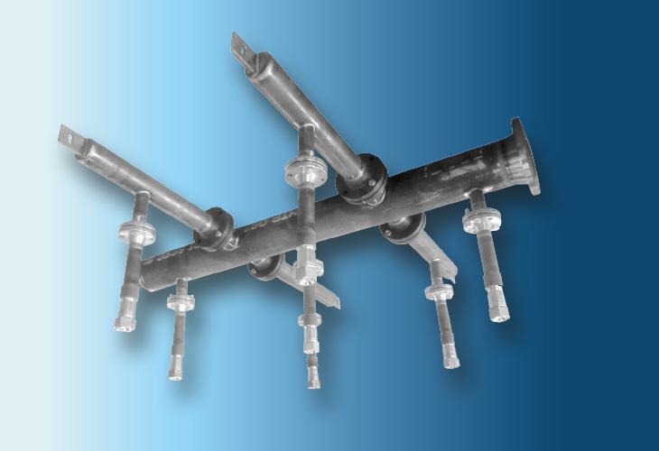 Sprühdüsenverteiler Type DP-S, Ø > 500 mm